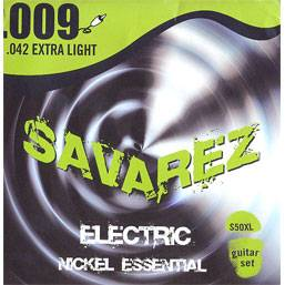 Nickel Essential Струны для электрогитар SAVAREZ S50XL (9-11-16-24-32-42)