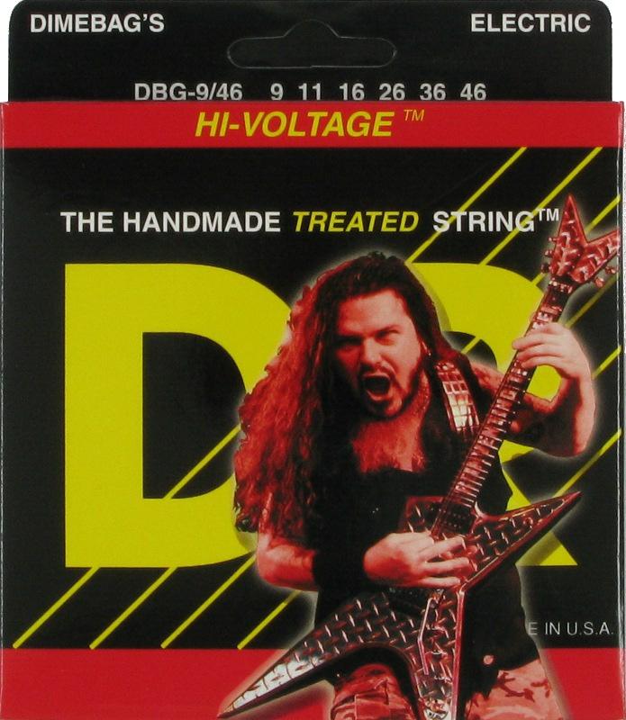 DIMEBAG DARRELL Струны для электрогитар DR DBG-9 (009-42)