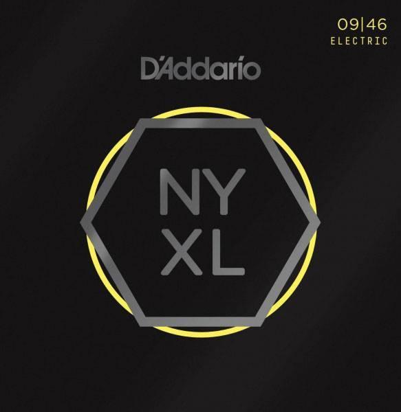 NYXL0946 NYXL Комплект струн для электрогитары, никелированные, Regular Light, 09-46, D`Addario