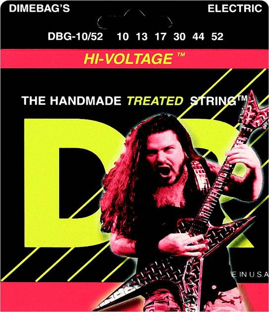 DIMEBAG DARRELL Струны для электрогитар DR DBG-10/52