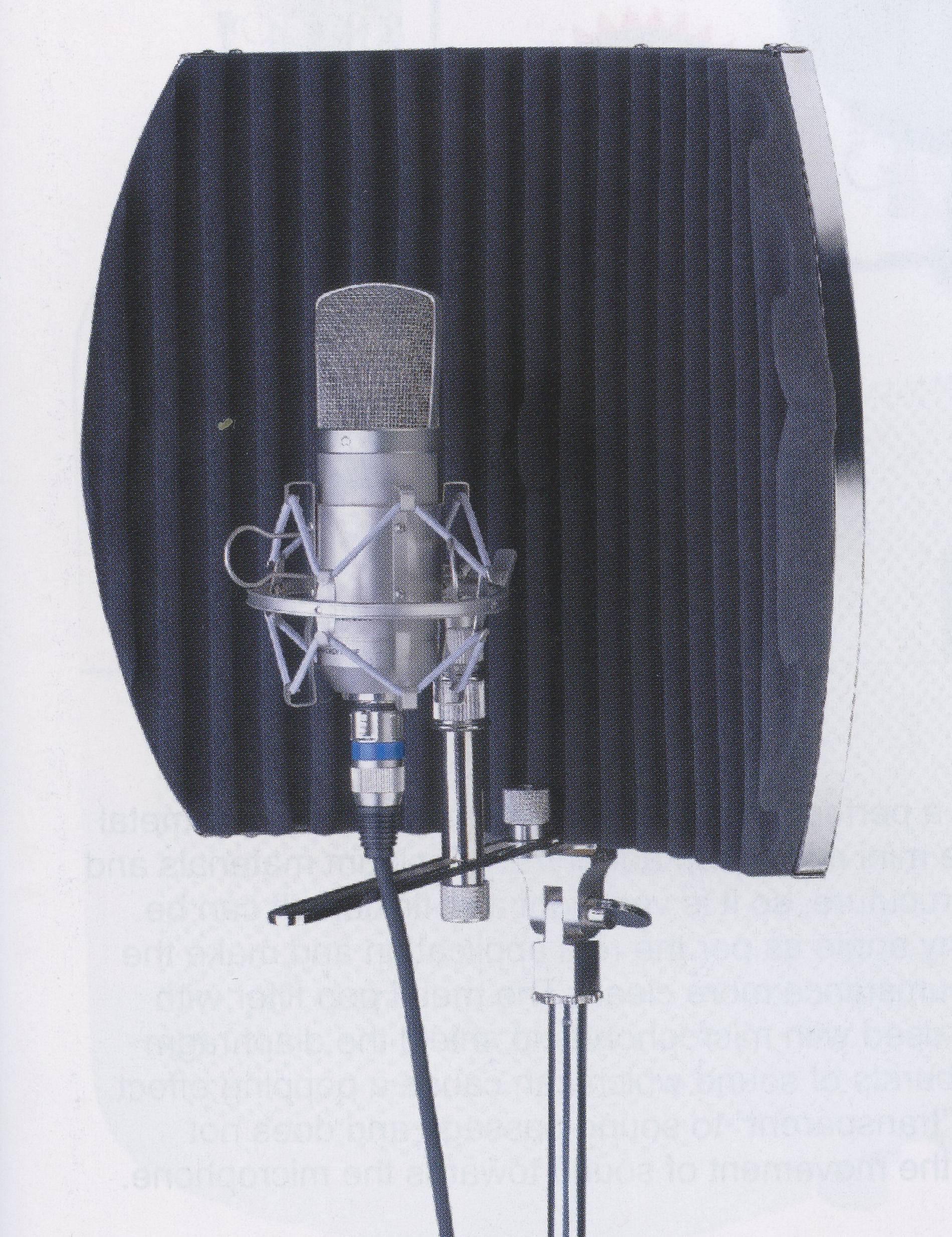 Защита на микрофон своими руками