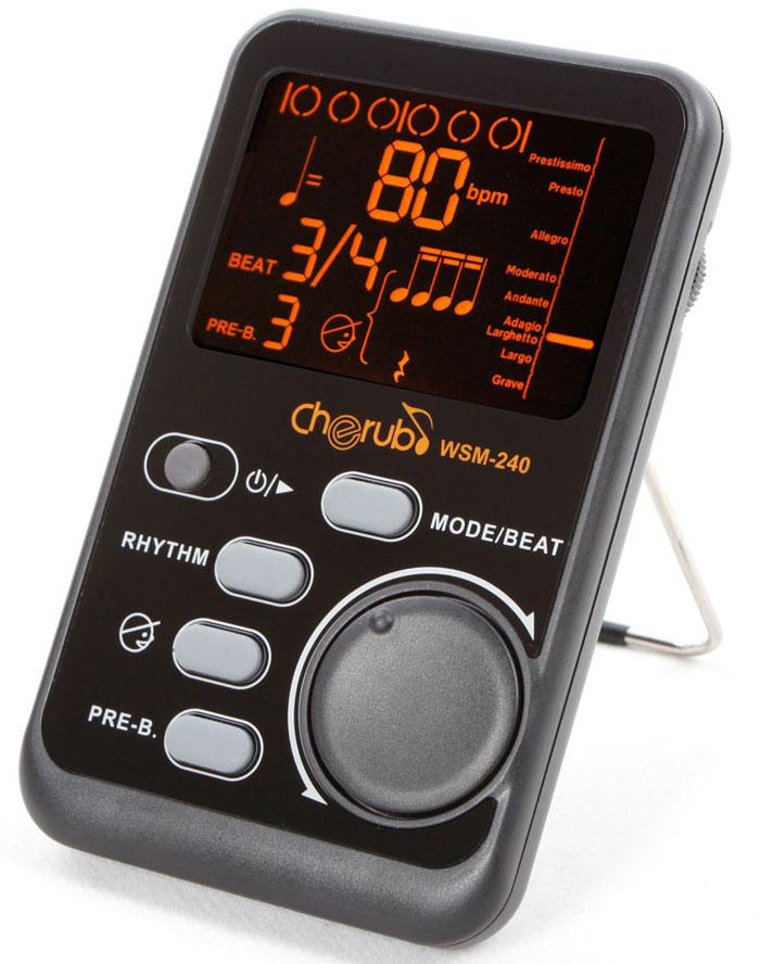 WSM-240 Portable Metronome Метроном портативный. Cherub