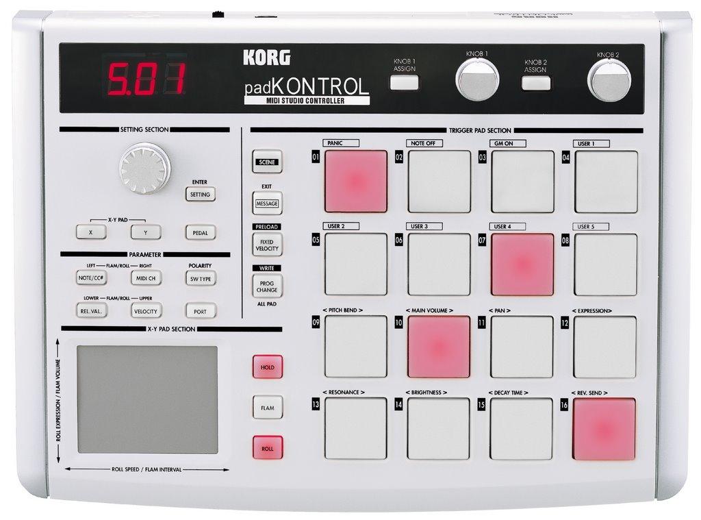 KORG PADKONTROL MIDI WINDOWS 7 64 DRIVER