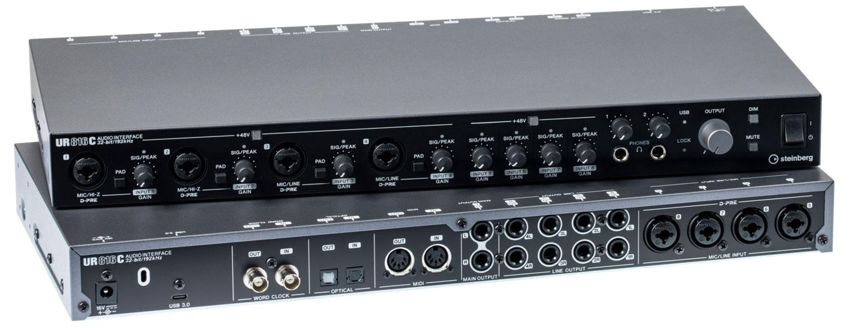 USB аудио интерфейс STEINBERG UR816C