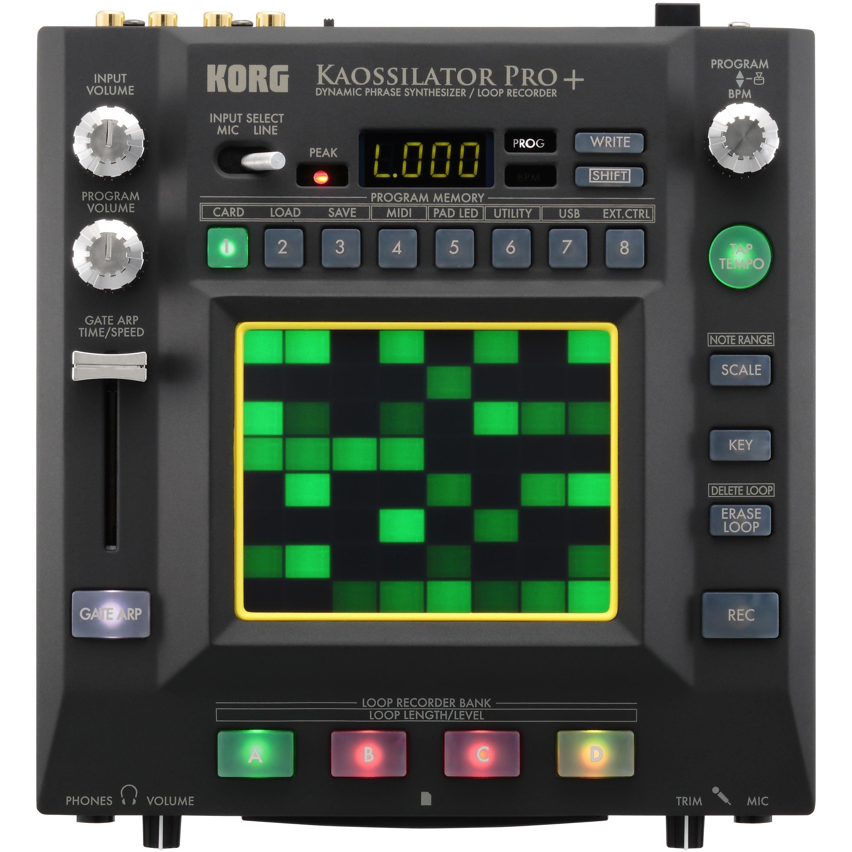 KORG KAOSSILATOR PRO USB MIDI WINDOWS 7 DRIVERS DOWNLOAD