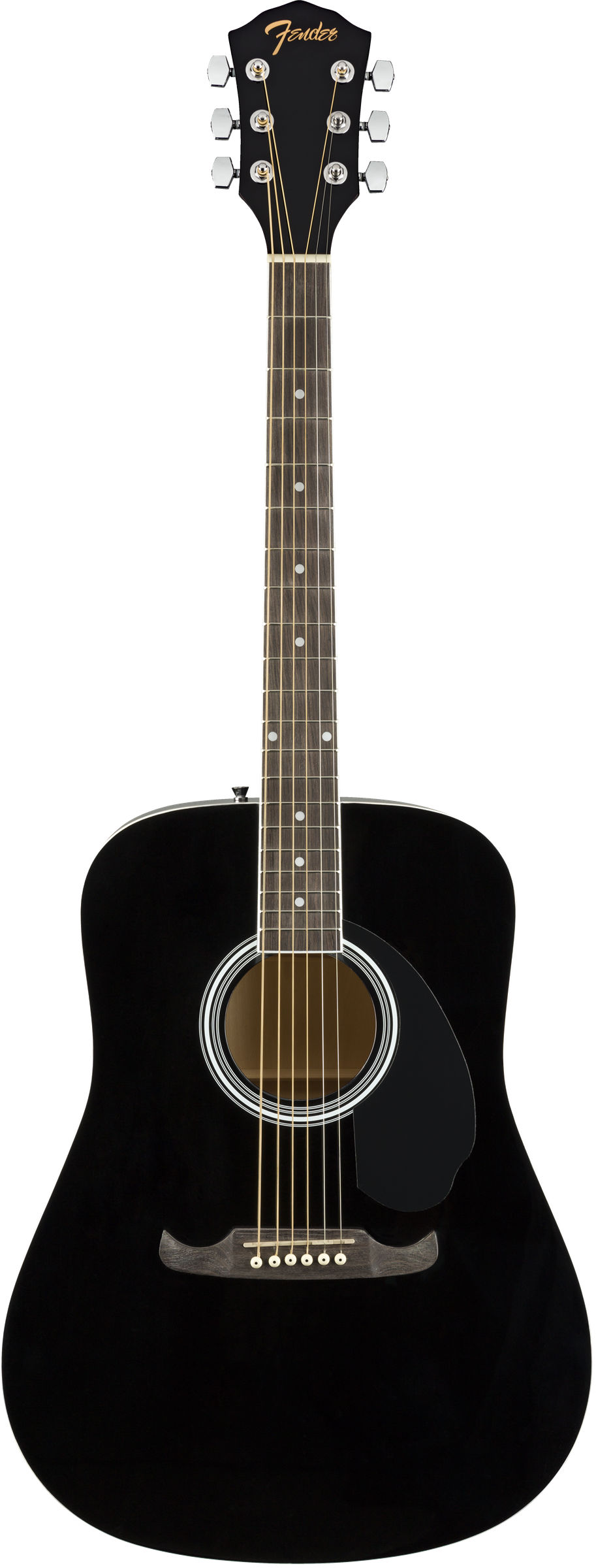 Акустика FENDER FA-125 Dreadnought, Black WN