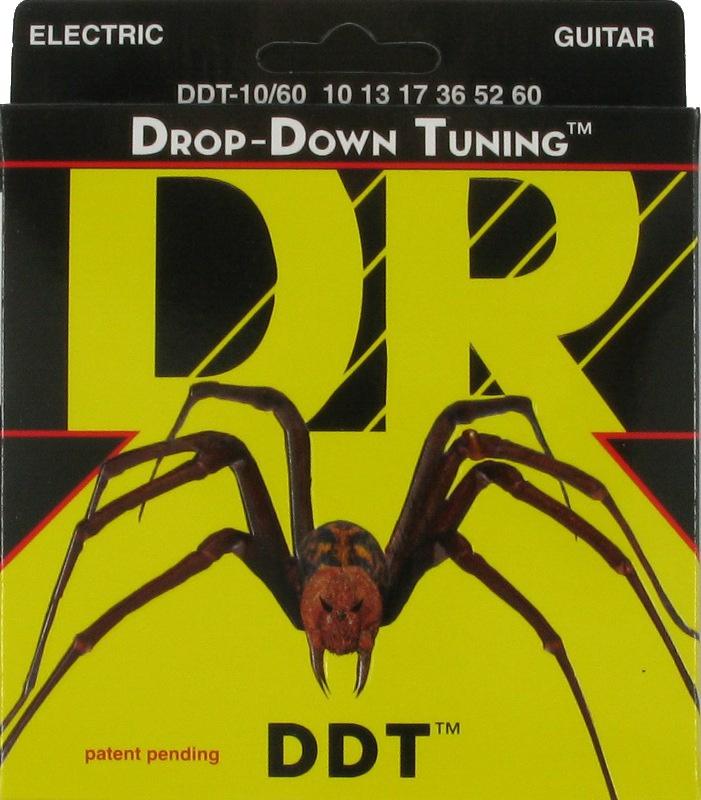 DROP-DOWN TUNING Струны для электрогитар DR DDT-10  (10-46)