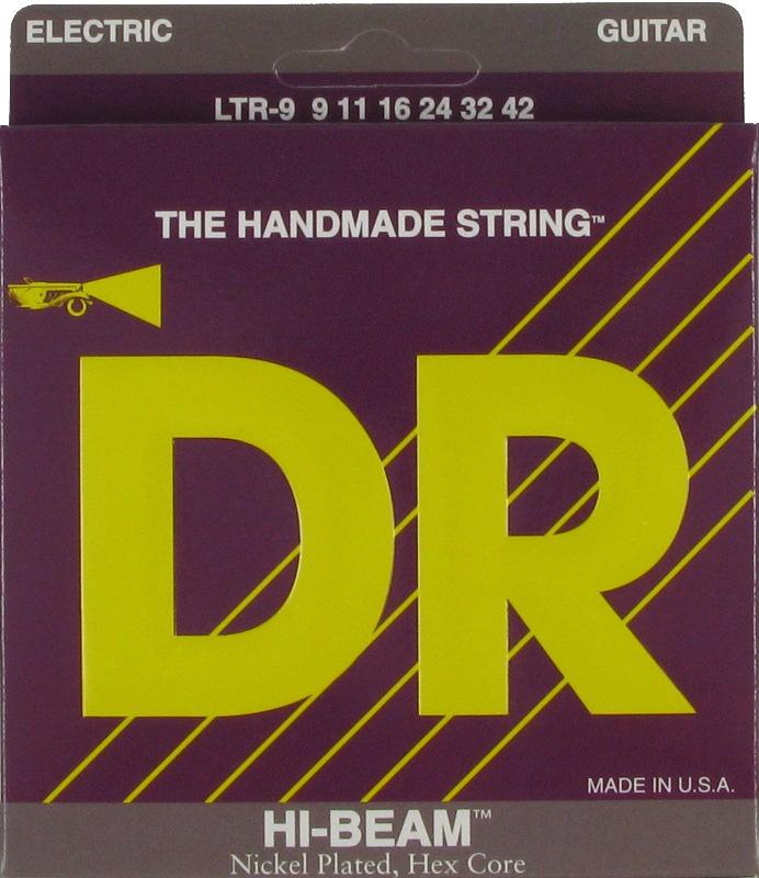 HI-BEAM Струны для электрогитар DR LTR-9 (9-42)