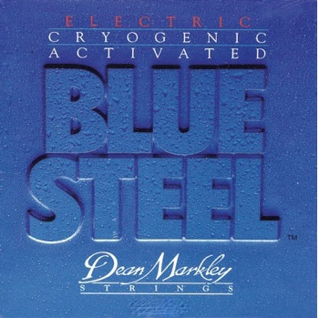 СТРУНЫ DEAN MARKLEY BLUE STEEL ELECTRIC 2556 REG