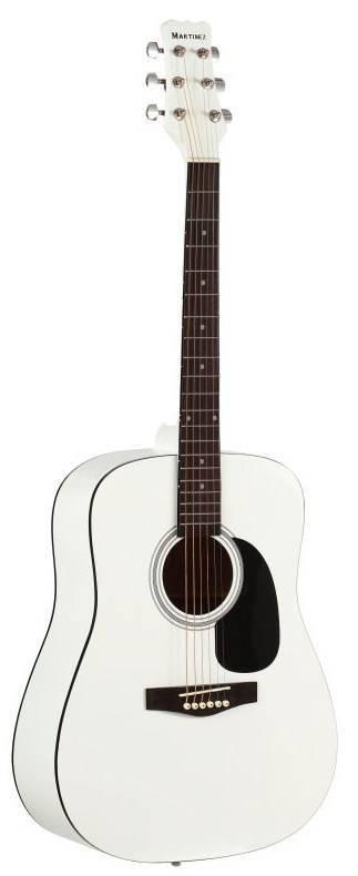 Акустическая гитара Martinez FAW-702-WH