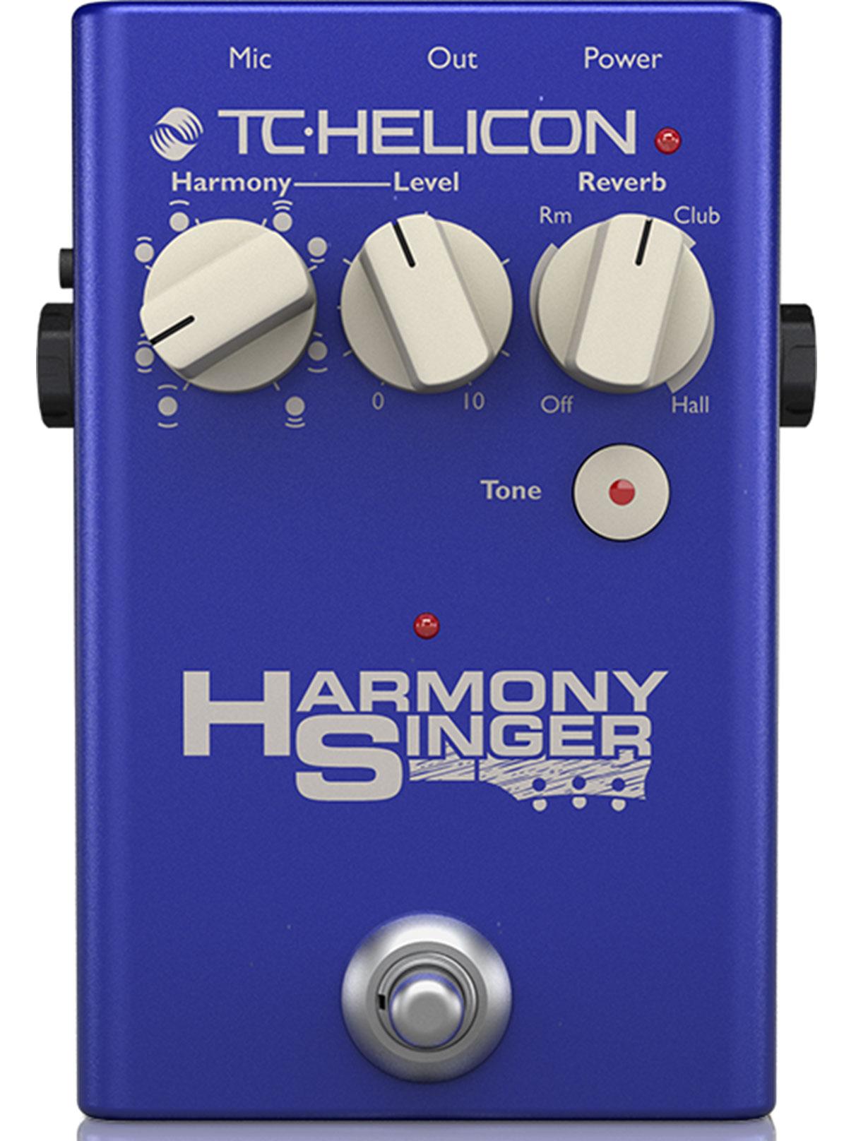 Вокальный процессор TC HELICON HARMONY SINGER 2