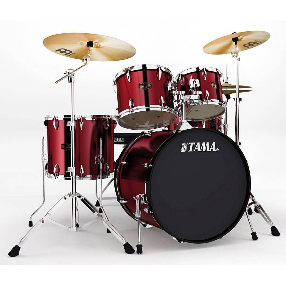 Tama Imperialstar  5Piece Complete Drum Kit with Meinl