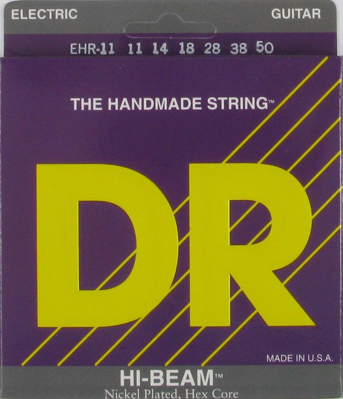 HI-BEAM Струны для электрогитар DR EHR-11 (11-50)