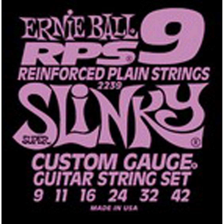 Струны для электрогитары ERNIE BALL 2239 (9-11-16-24-32-42)