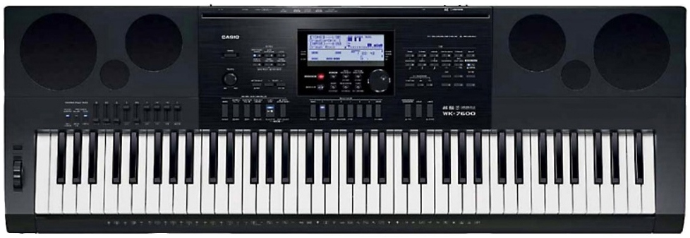 инструкция синтезатора casio wk7600