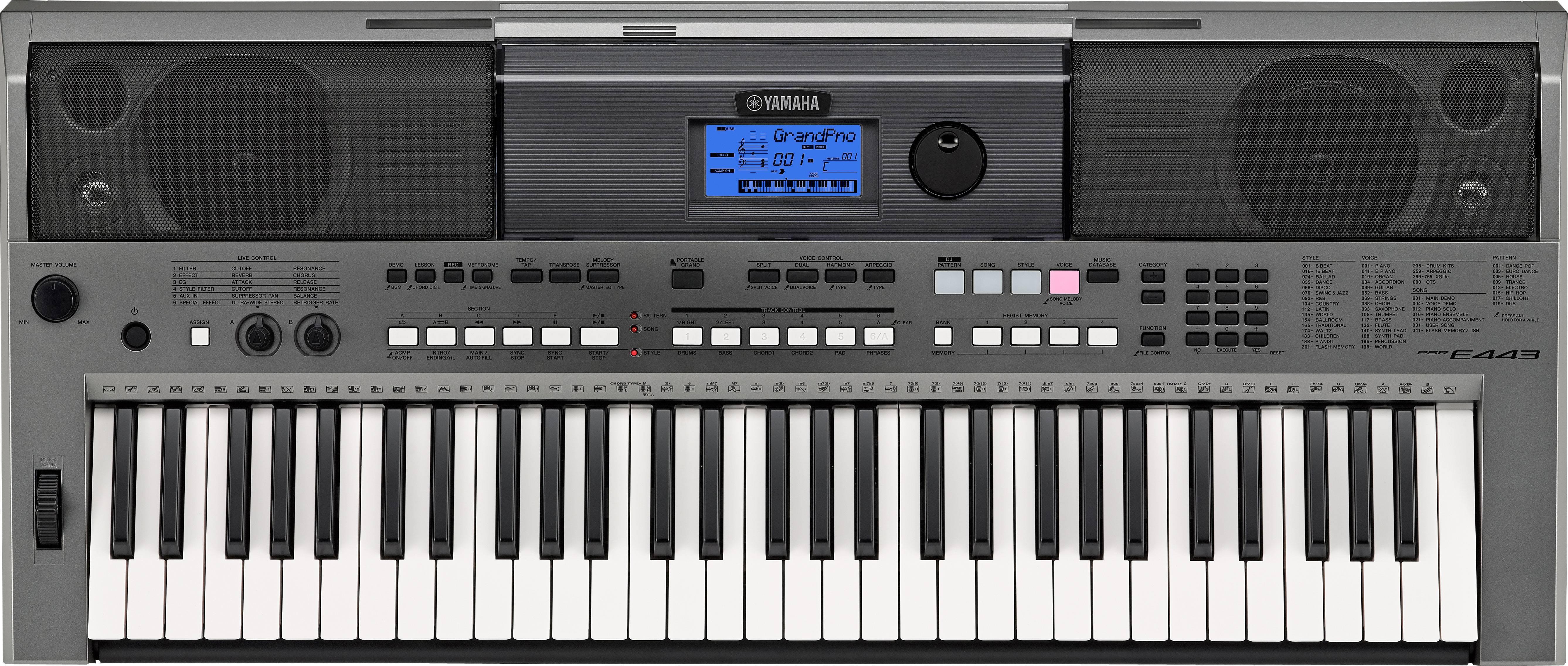 Звуки для синтезатора yamaha скачать