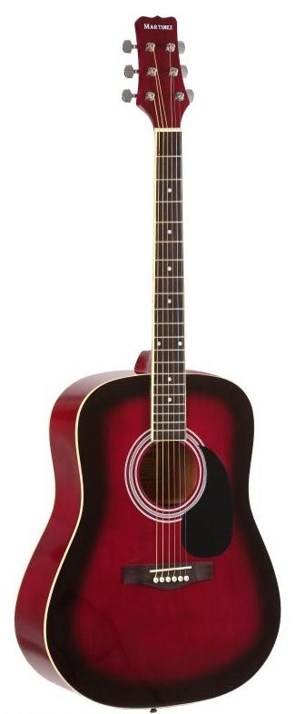 Акустическая гитара Martinez FAW-702-TWRS