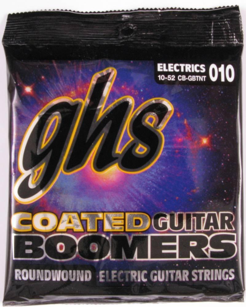 GHS GBTNT - струны для электрогитары - никелир.сталь, кругл.обмотка; (10-13-17-30-44-52); Boomers