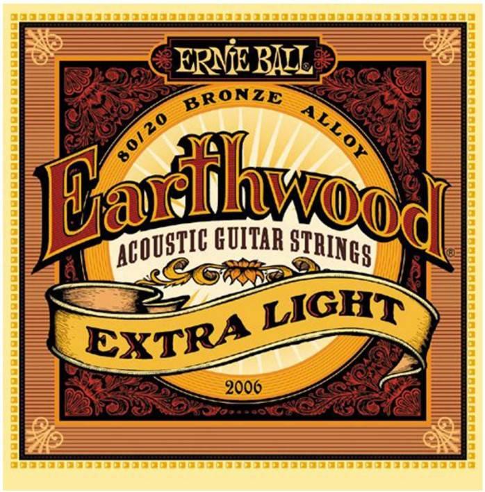 Струны для акустической гитары ERNIE BALL 2006 (10-14-20w-28-40-50)