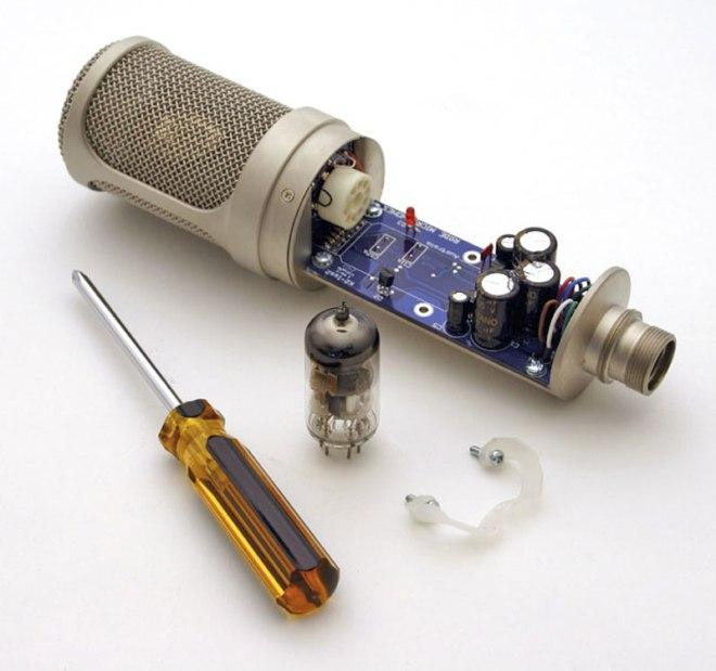 Профессиональный микрофон своими руками 25