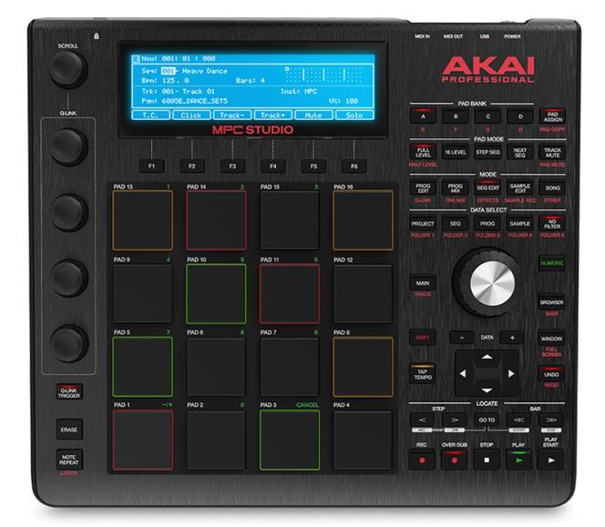 Akai-Pro-MPC-Studio-top