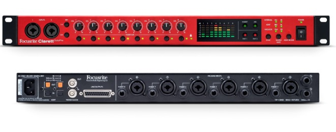 Focusrite-Clarett-OctoPre-Front-And-Rear