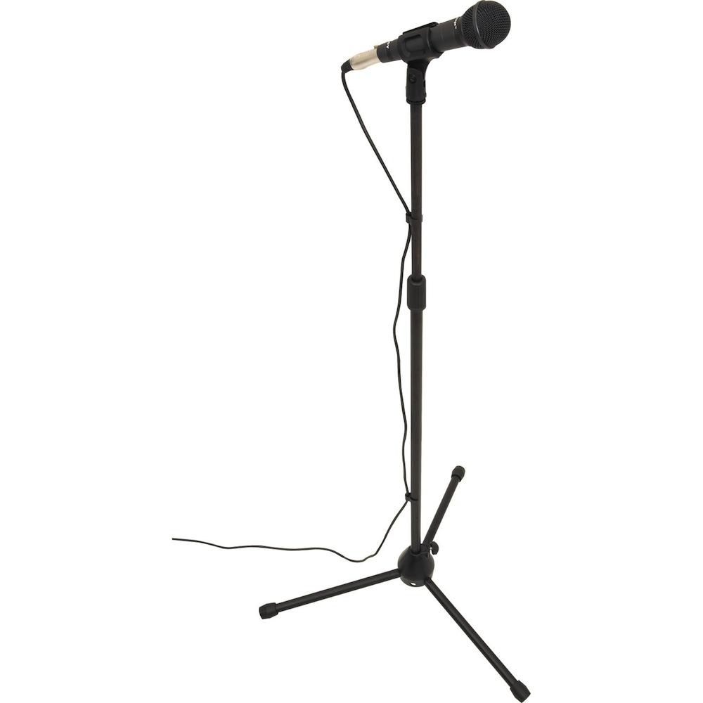 Вокалистам понадобится микрофон со стойкой