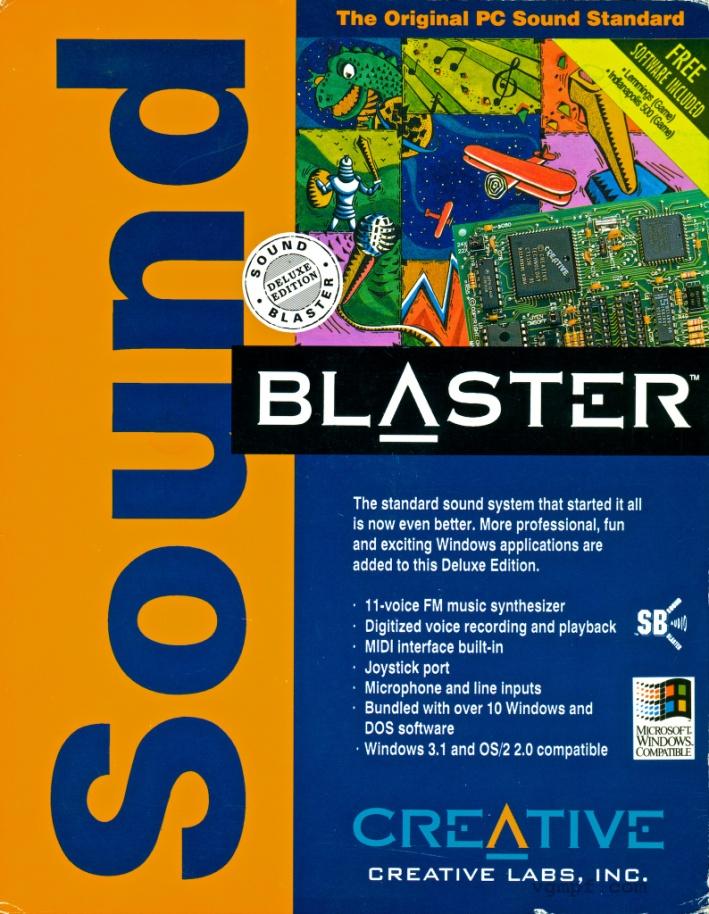 Sound Blaster от Creative – первая звуковая карта для вывода звука из компьютера