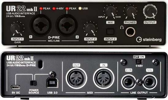 steinberg-ur22-mk2-audio-interface