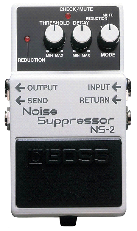 Педаль Noise gate BOSS NS-2