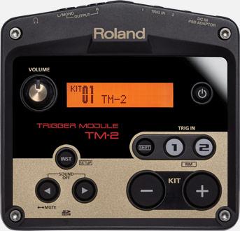 Компания ROLAND производит триггеры, совместимые со звуковыми модулями