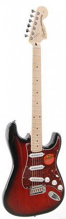 ЭЛЕКТРОГИТАРА FENDER SQUIER STANDARD STRAT MN ANTIQUE BURST