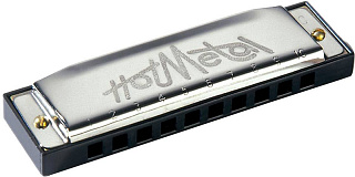 ГУБНАЯ ГАРМОШКА HOHNER Hot Metal F (M57206X)