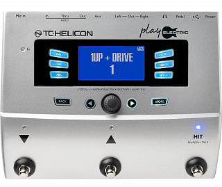 Процессор эффектов TC HELICON Play Electric