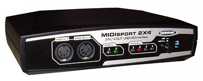 MIDI ИНТЕРФЕЙС M-AUDIO MIDISPORT 2x4 USB