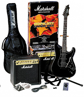 ГИТАРНЫЙ КОМПЛЕКТ MARSHALL GAP15MGP ROCK-KIT SPECIAL