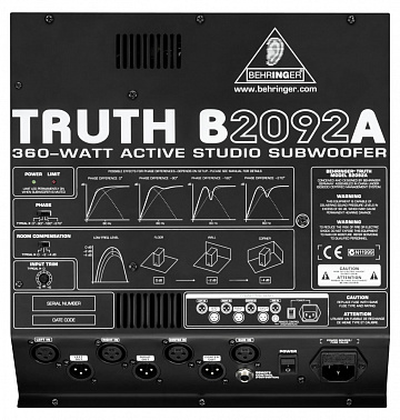 САБВУФЕР BEHRINGER B 2092A TRUTH
