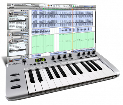 MIDI КЛАВИАТУРА M-AUDIO KEYSTUDIO 25