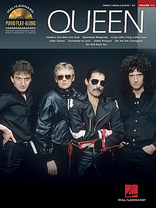 HAL LEONARD PVGPLA QUEEN VOLUME 113 BK/CD