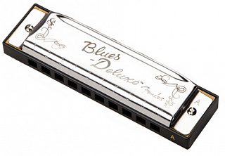 Губная гармоника FENDER Blues Deluxe Harmonica A