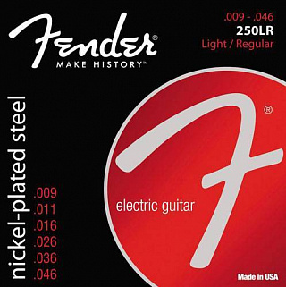СТРУНЫ FENDER STRINGS NEW SUPER 250LR NPS BALL END