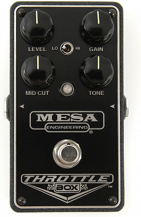 ГИТАРНАЯ ПЕДАЛЬ MESA BOOGIE THROTTLE BOX DISTORTION