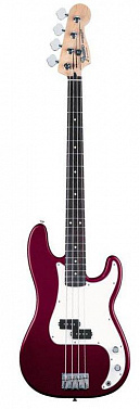 БАС-ГИТАРА FENDER STANDARD P-BASS RW MIDNIGHT WINE