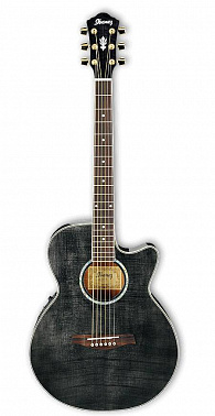 ЭЛЕКТРОАКУСТИЧЕСКАЯ ГИТАРА IBANEZ AEG20E TRANSPARENT GRAY
