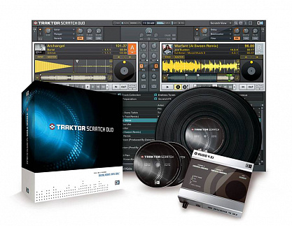ПРОГРАММНОЕ ОБЕСПЕЧЕНИЕ ДЛЯ PC NATIVE INSTRUMENTS TRAKTOR SCRATCH DUO