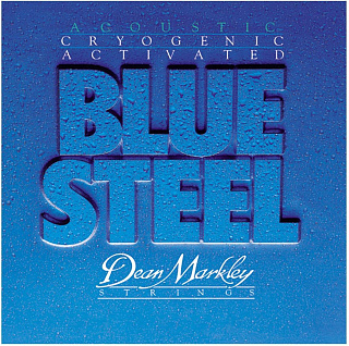 СТРУНЫ DEAN MARKLEY BLUE STEEL ACOUSTIC 2034 LT