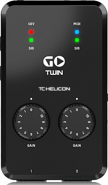 Аудио/MIDI интерфейс TC HELICON GO TWIN