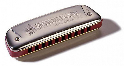 ГУБНАЯ ГАРМОШКА HOHNER GOLDEN MELODY 542/20 G