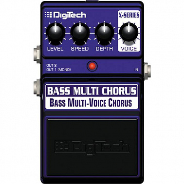 БАСОВЫЙ ЭФФЕКТ DIGITECH XBC BASS MULTI CHORUS