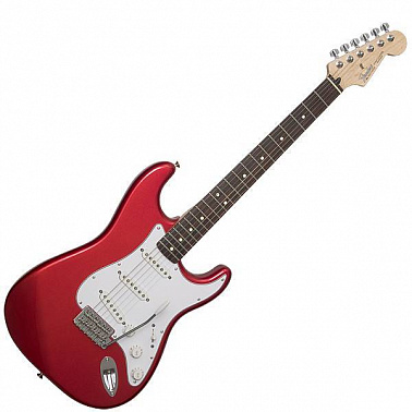 ЭЛЕКТРОГИТАРА FENDER STANDARD STRATOCASTER RW CANDY APPLE RED